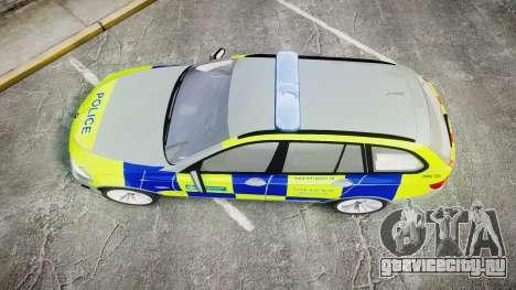 BMW 530d F11 Metropolitan Police [ELS] для GTA 4 вид справа