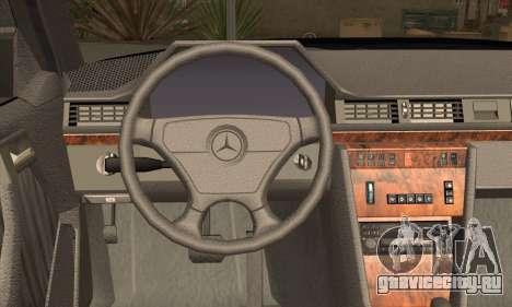 Mercedes-Benz E500 для GTA San Andreas вид сзади слева