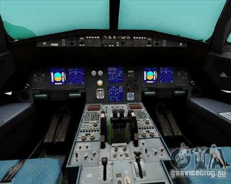 Airbus A321-200 Qantas (Wallabies Livery) для GTA San Andreas салон