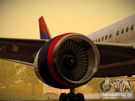 Boeing 757-232 Delta Airlines для GTA San Andreas двигатель
