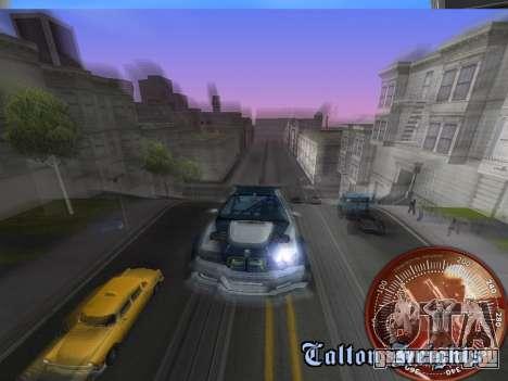 Спидометр HITMAN для GTA San Andreas шестой скриншот