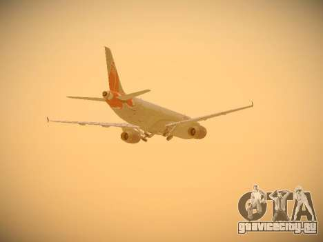 Airbus A321-232 jetBlue Boston Red Sox для GTA San Andreas вид сбоку