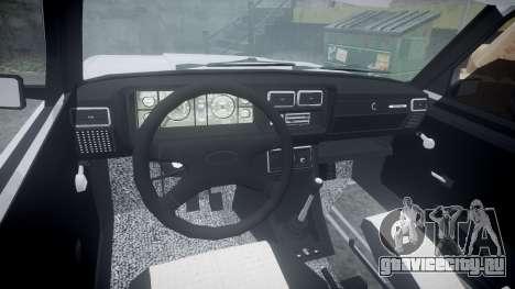 ВАЗ-2107 Avtosh Style для GTA 4 вид сзади