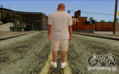 Franklin from GTA 5 для GTA San Andreas второй скриншот