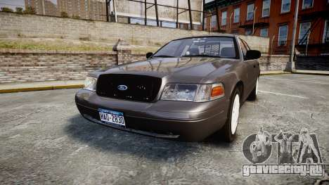 Ford Crown Victoria Unmarked Police [ELS] для GTA 4