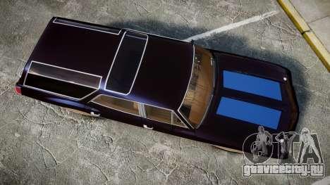Oldsmobile Vista Cruiser 1972 Rims2 Tree2 для GTA 4 вид справа