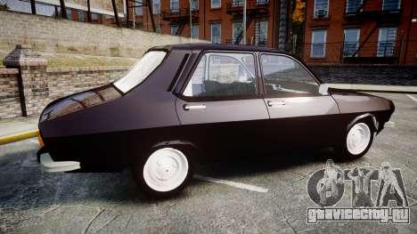 Dacia 1300 для GTA 4 вид слева