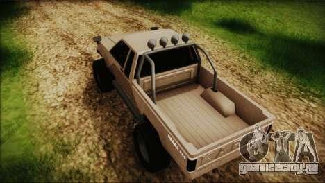 Karin Rebel 4x4 GTA 5 для GTA San Andreas вид сзади слева