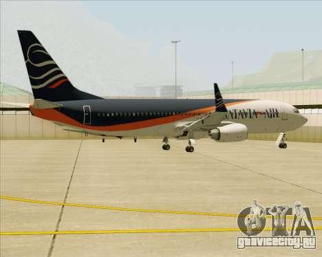 Boeing 737-800 Batavia Air (New Livery) для GTA San Andreas двигатель