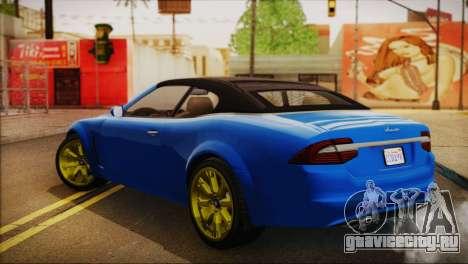 Lampadati Felon GT (IVF) для GTA San Andreas вид слева