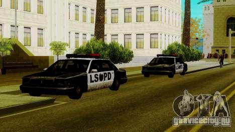 Новые транспортные средства в LSPD для GTA San Andreas