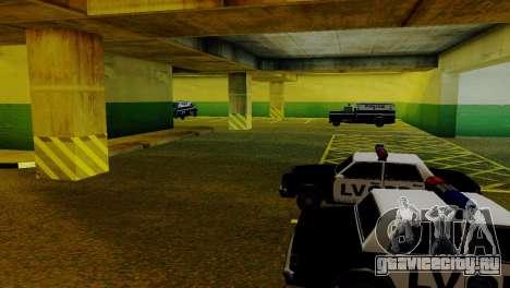 Новые транспортные средства в LVPD для GTA San Andreas седьмой скриншот