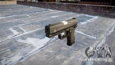 Пистолет Taurus 24-7 black icon2 для GTA 4