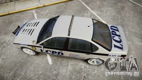 Declasse Merit Police Patrol Speed Enforcement для GTA 4 вид справа