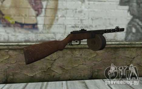 PPSH-41 v2 для GTA San Andreas второй скриншот