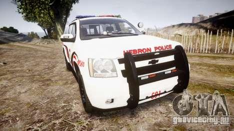 Chevrolet Suburban 2008 Police [ELS] Red & Blue для GTA 4