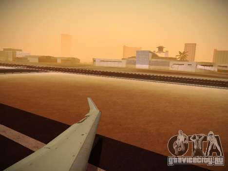 Bombardier CRJ-700 Delta Connection для GTA San Andreas вид сбоку