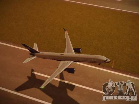 Boeing 757-224 United Airlines для GTA San Andreas двигатель