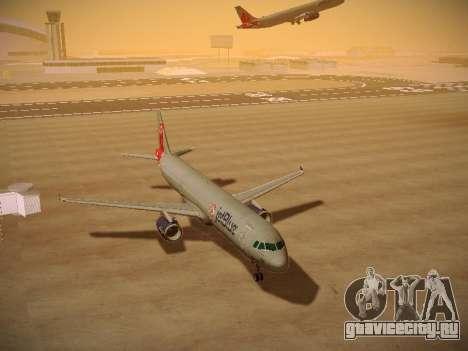 Airbus A321-232 jetBlue Boston Red Sox для GTA San Andreas вид сзади