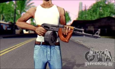 Импортный АК для GTA San Andreas третий скриншот