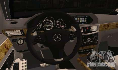 Mercedes-Benz E320 для GTA San Andreas вид сзади слева