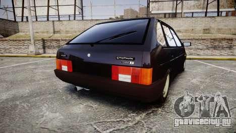 ВАЗ-2109 сток для GTA 4 вид сзади слева