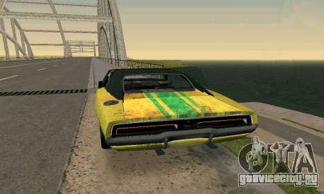 Dodge Charger HL2 EP2 для GTA San Andreas вид слева