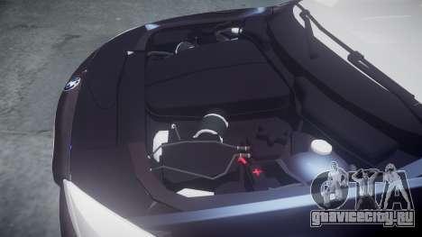 BMW 530d F11 Metropolitan Police [ELS] для GTA 4 вид сбоку