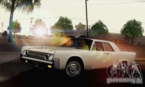 Lincoln Continental Sedan (53А) 1962 (HQLM) для GTA San Andreas