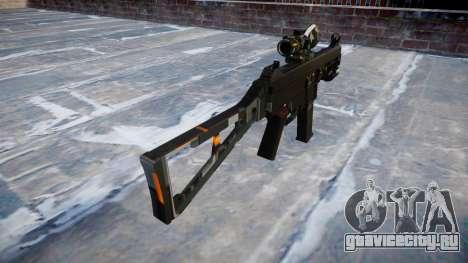 Пистолет-пулемёт UMP45 CE Digital для GTA 4 второй скриншот