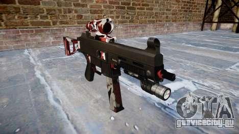 Пистолет-пулемёт UMP45 Bloodshot для GTA 4