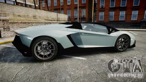 Lamborghini Aventador 50th Anniversary Roadster для GTA 4 вид слева