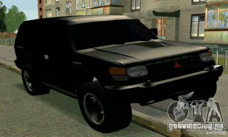 Mitsubishi Pajero Intercooler Turbo 2800 для GTA San Andreas
