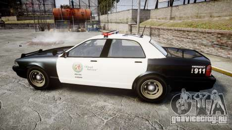GTA V Vapid Cruiser LSP [ELS] для GTA 4 вид слева
