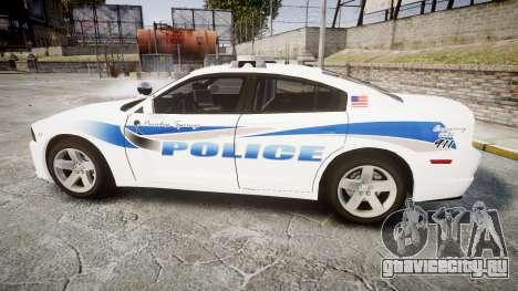 Dodge Charger RT 2013 PS Police [ELS] для GTA 4 вид слева
