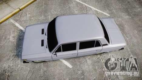 ВАЗ-2106 шестёрка для GTA 4 вид справа