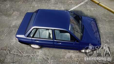 Kia Pride 132 SE для GTA 4 вид справа