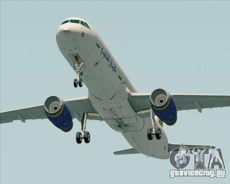 Airbus A321-200 Gulf Air для GTA San Andreas вид справа