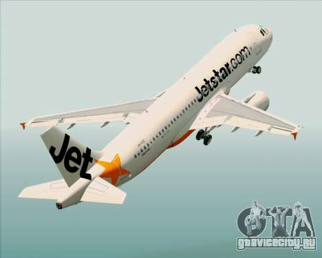 Airbus A320-200 Jetstar Airways для GTA San Andreas
