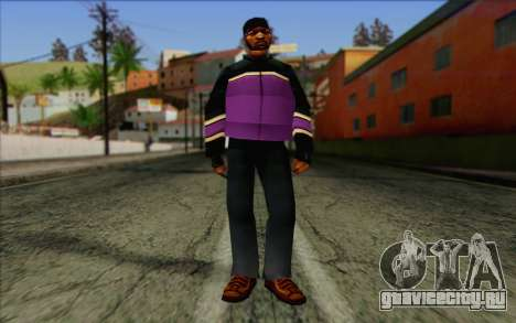 Hood from GTA Vice City Skin 1 для GTA San Andreas