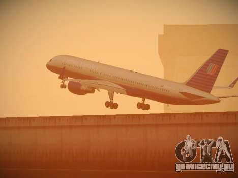Boeing 757-224 United Airlines для GTA San Andreas колёса