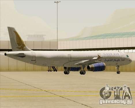 Airbus A321-200 Gulf Air для GTA San Andreas