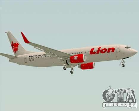 Boeing 737-800 Lion Air для GTA San Andreas вид сбоку