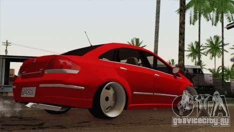 Fiat Siena для GTA San Andreas вид слева