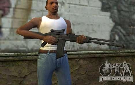 AK-107 для GTA San Andreas третий скриншот