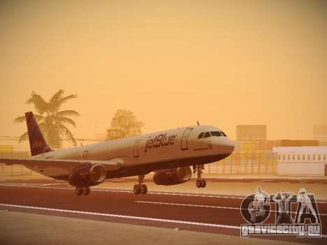 Airbus A321-232 jetBlue Red White and Blue для GTA San Andreas