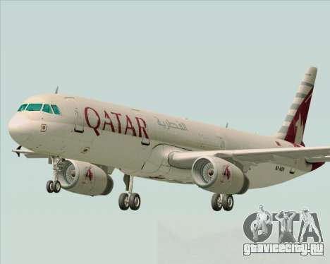 Airbus A321-200 Qatar Airways для GTA San Andreas
