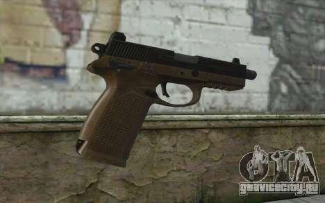 FN FNP-45 Без Глушителя для GTA San Andreas второй скриншот