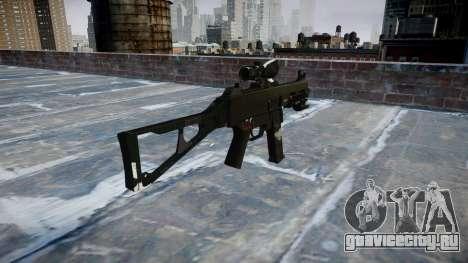 Пистолет-пулемёт UMP45 Ghosts для GTA 4 второй скриншот