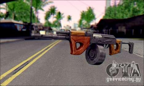 Импортный АК для GTA San Andreas